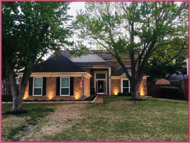 721 Bridget Way, Hurst, TX 76054 (MLS #13816847) :: The Chad Smith Team