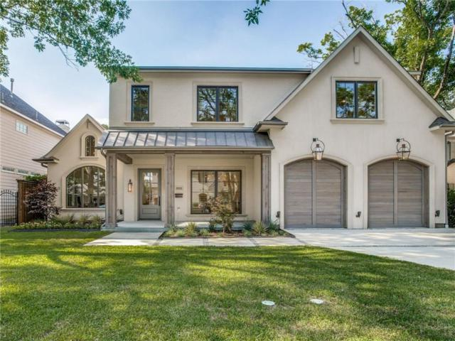 5521 Southwestern Boulevard, Dallas, TX 75209 (MLS #13818244) :: Team Hodnett