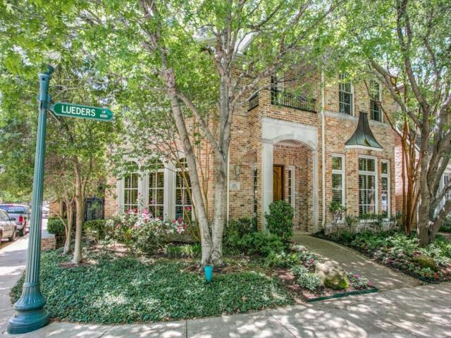 12103 Lueders Lane, Dallas, TX 75230 (MLS #13818567) :: The Real Estate Station