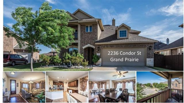 2236 Condor Street, Grand Prairie, TX 75052 (MLS #13818624) :: The FIRE Group at Keller Williams
