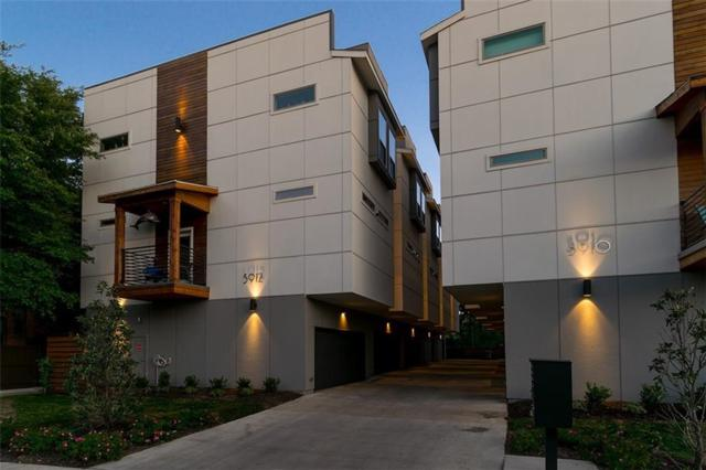 5912 Ross Avenue #10, Dallas, TX 75206 (MLS #13822220) :: Baldree Home Team