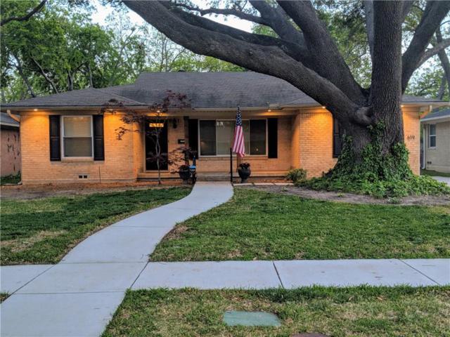 619 Blanning Drive, Dallas, TX 75218 (MLS #13825202) :: The Chad Smith Team