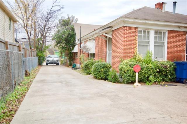 4606 Capitol Avenue, Dallas, TX 75204 (MLS #13825746) :: Frankie Arthur Real Estate