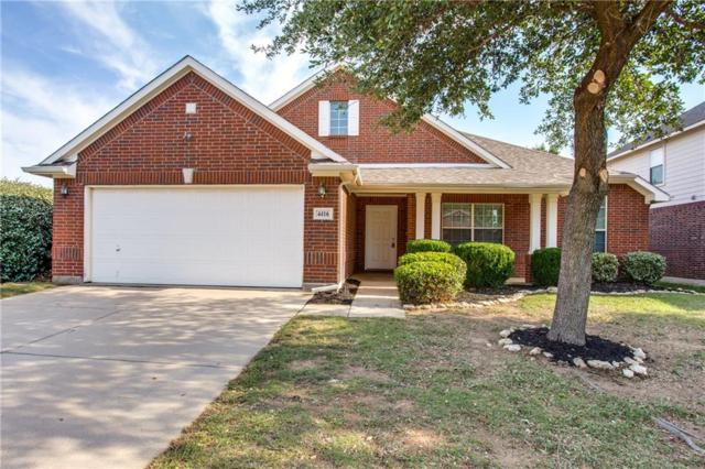 4416 Mallow Oak Drive, Fort Worth, TX 76123 (MLS #13835159) :: The Rhodes Team