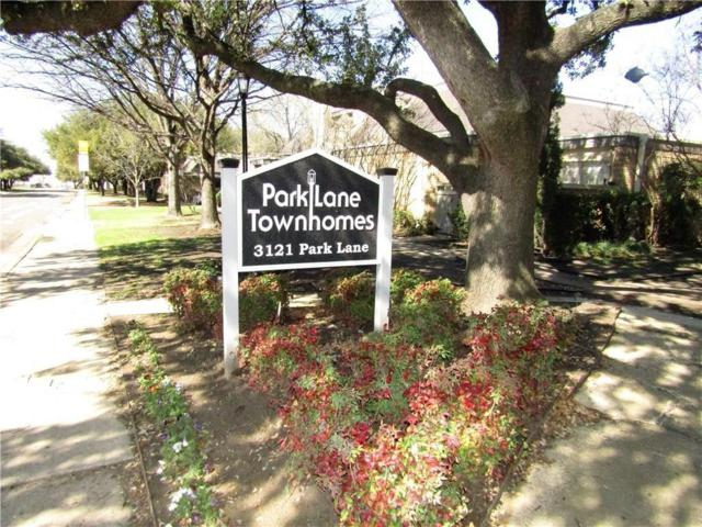3121 Park Lane #1117, Dallas, TX 75220 (MLS #13837033) :: Magnolia Realty