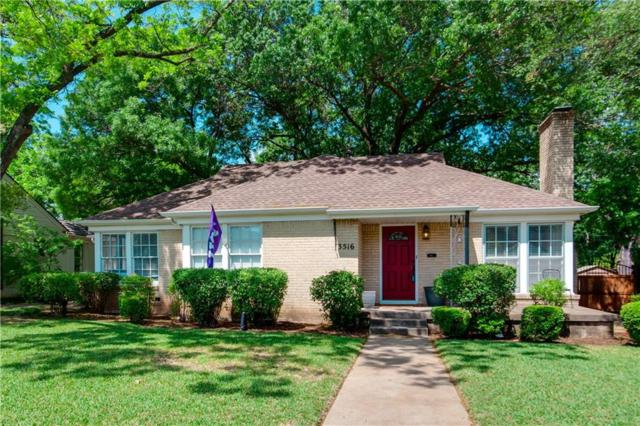 3516 Harwen Terrace, Fort Worth, TX 76109 (MLS #13839253) :: The Chad Smith Team