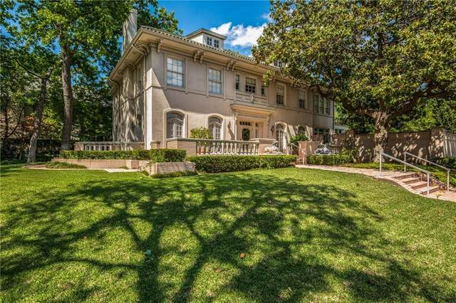4700 Lakeside Drive, Highland Park, TX 75205 (MLS #13839400) :: All Cities USA Realty