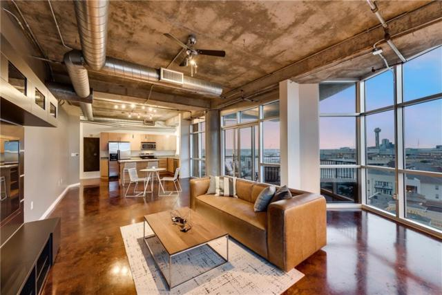 1001 Belleview Street #808, Dallas, TX 75215 (MLS #13843736) :: Baldree Home Team