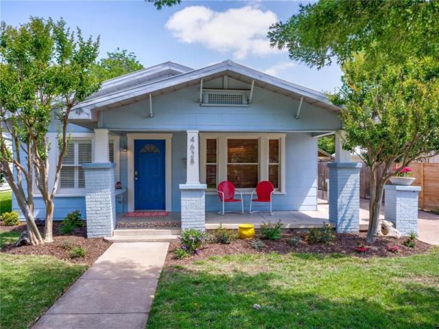 4628 Pershing Avenue, Fort Worth, TX 76107 (MLS #13846143) :: The Mitchell Group