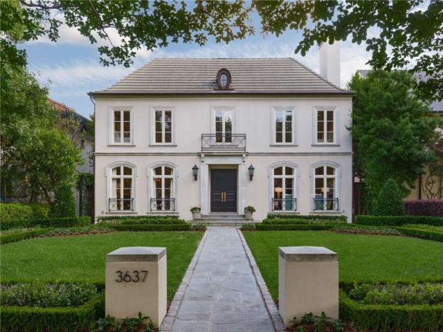 3637 Maplewood Avenue, Highland Park, TX 75205 (MLS #13849634) :: Robbins Real Estate Group