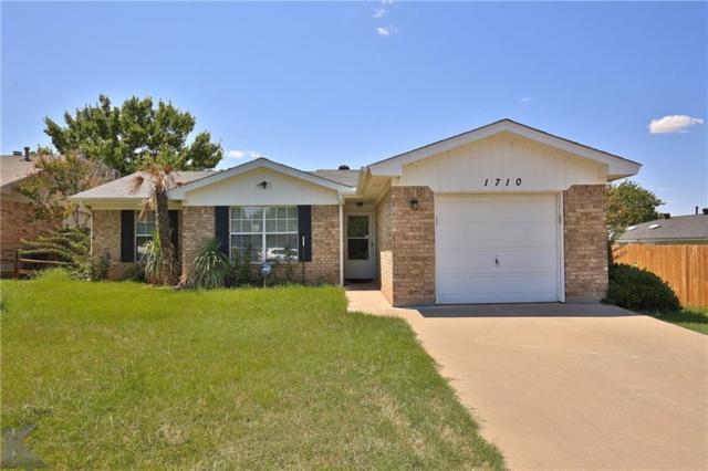 1710 Snipe Lane, Abilene, TX 79605 (MLS #13854942) :: RE/MAX Town & Country