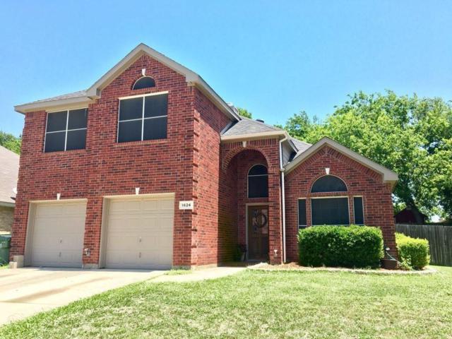 1624 Stratford Drive, Mansfield, TX 76063 (MLS #13856542) :: RE/MAX Landmark