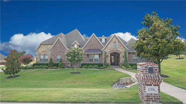 12551 Bella Roma Drive, Fort Worth, TX 76126 (MLS #13861322) :: Team Hodnett