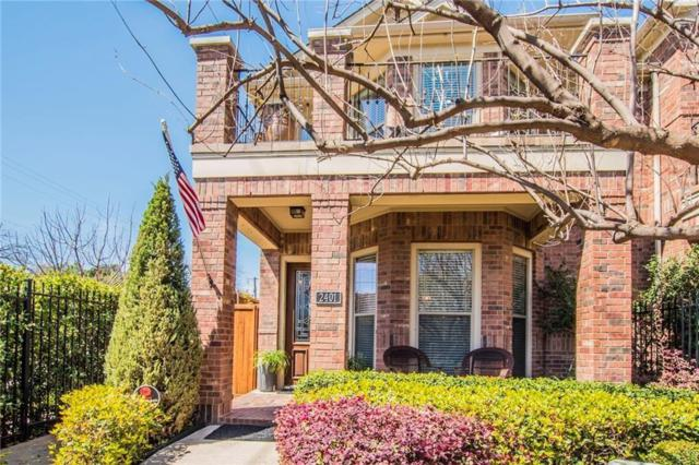2401 Knight Street, Dallas, TX 75219 (MLS #13863766) :: Steve Grant Real Estate