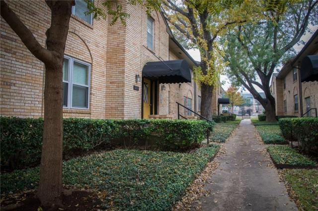 5819 Sandhurst Lane D, Dallas, TX 75206 (MLS #13866636) :: The Heyl Group at Keller Williams