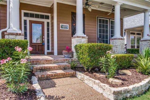 3465 Fountainbleau Lane, Frisco, TX 75033 (MLS #13874152) :: RE/MAX Town & Country