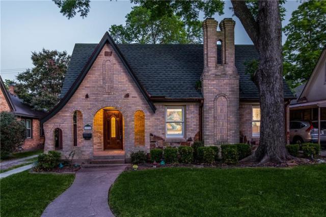 5514 Monticello Avenue, Dallas, TX 75206 (MLS #13877422) :: Team Hodnett