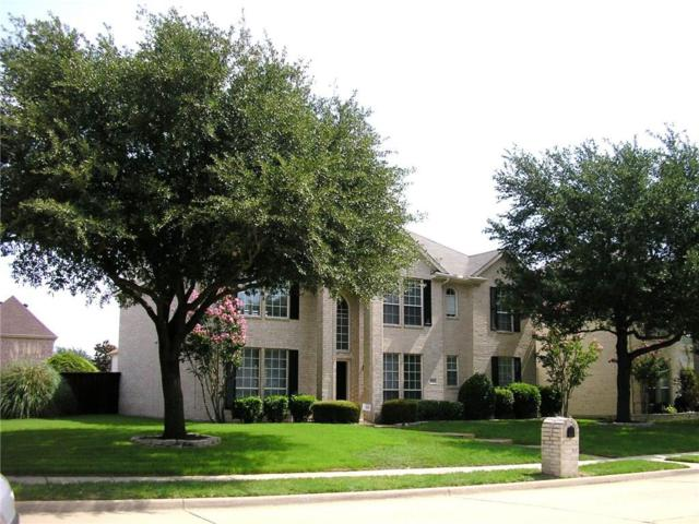 9508 Fairmont Drive, Frisco, TX 75035 (MLS #13879381) :: The Real Estate Station