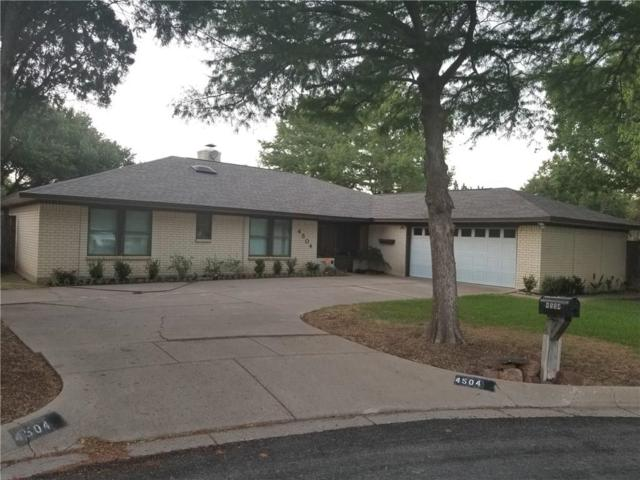 4504 Mill Pond Court, Fort Worth, TX 76133 (MLS #13880133) :: Frankie Arthur Real Estate