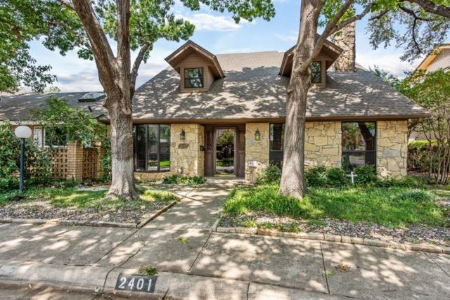 2401 St Gregory Street, Arlington, TX 76013 (MLS #13889218) :: RE/MAX Town & Country