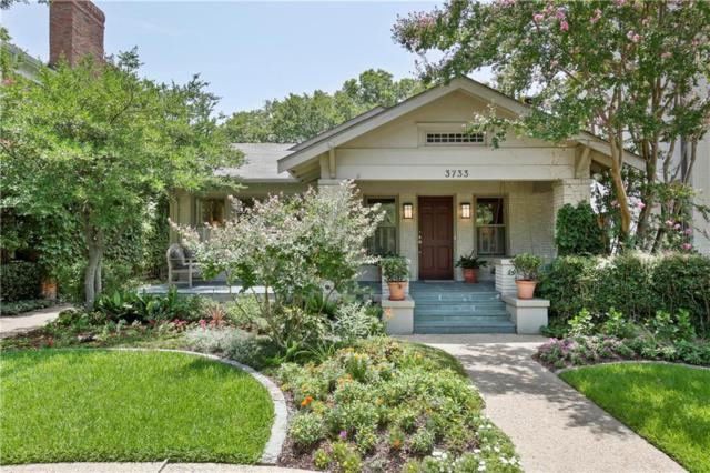 3733 Normandy Avenue, Highland Park, TX 75205 (MLS #13895807) :: Robbins Real Estate Group