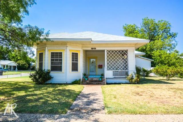 1642 S 11th Street, Abilene, TX 79602 (MLS #13898029) :: Century 21 Judge Fite Company