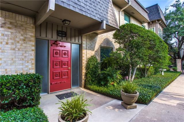4320 Bellaire Drive S 226W, Fort Worth, TX 76109 (MLS #13903352) :: Team Hodnett