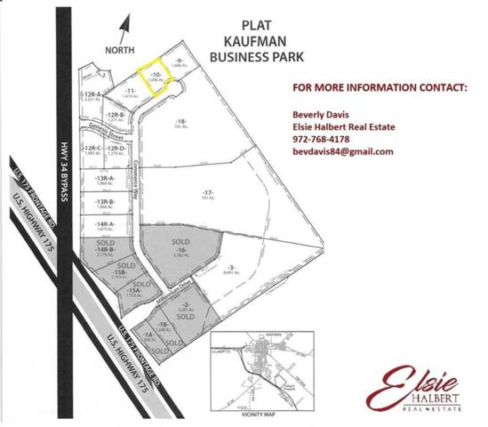 TBD 1 Commerce Way, Kaufman, TX 75142 (MLS #13904768) :: Robinson Clay Team