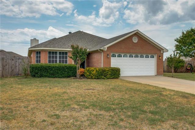 505 Asher Court, Fort Worth, TX 76131 (MLS #13904832) :: Team Hodnett