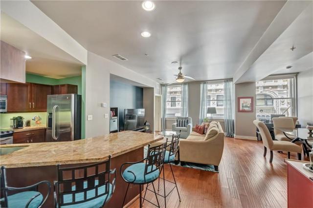 411 W 7th Street #207, Fort Worth, TX 76102 (MLS #13905224) :: RE/MAX Landmark