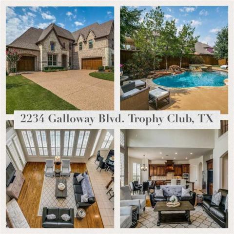 2234 Galloway Boulevard, Trophy Club, TX 76262 (MLS #13907343) :: Team Hodnett