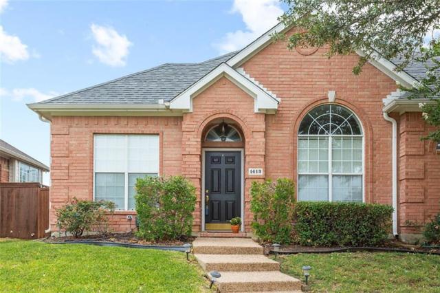 1413 Mayflower Lane, Lewisville, TX 75077 (MLS #13911285) :: Team Hodnett