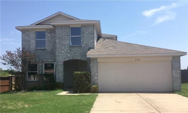 2336 Northway, Denton, TX 76207 (MLS #13911742) :: RE/MAX Town & Country