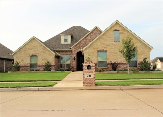 321 Oar Wood Drive, Granbury, TX 76049 (MLS #13912589) :: Team Hodnett