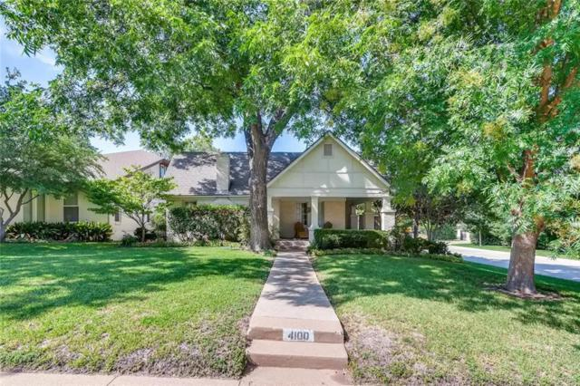 4100 Bunting Avenue, Fort Worth, TX 76107 (MLS #13912641) :: The Mitchell Group