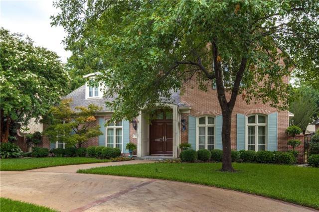 3816 Villanova Street, University Park, TX 75225 (MLS #13912683) :: Frankie Arthur Real Estate