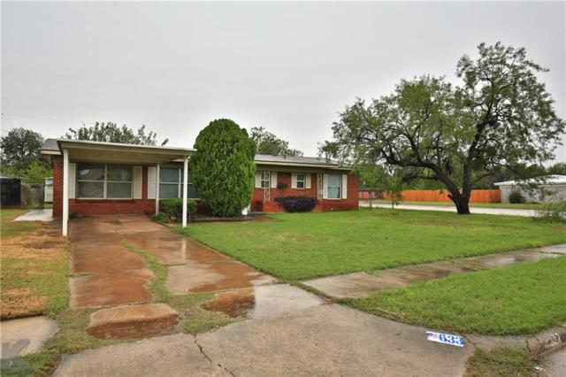 633 S La Salle Drive, Abilene, TX 79605 (MLS #13912830) :: The Rhodes Team