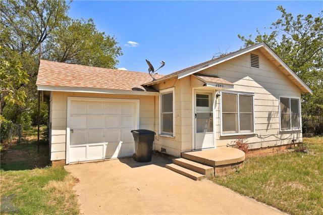 2841 Old Anson Road, Abilene, TX 79603 (MLS #13919434) :: The Tonya Harbin Team