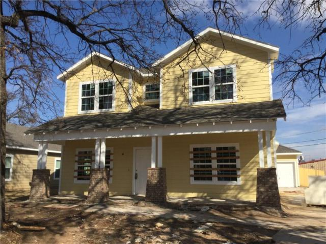 1402 Lee Avenue, Fort Worth, TX 76164 (MLS #13923201) :: RE/MAX Town & Country