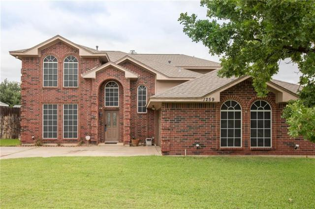 1259 Stonehill Court, Kennedale, TX 76060 (MLS #13924517) :: RE/MAX Town & Country