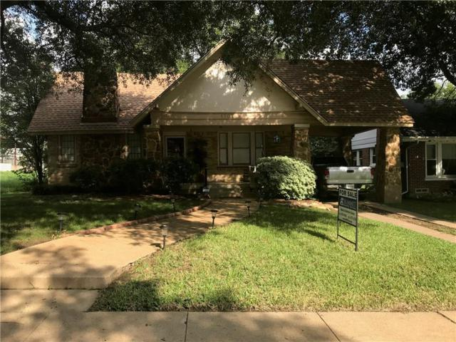1707 Thomas Place, Fort Worth, TX 76107 (MLS #13934600) :: Team Tiller