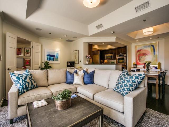 5909 Luther Lane #703, Dallas, TX 75225 (MLS #13935379) :: Robbins Real Estate Group