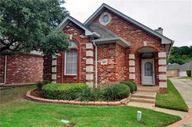 517 Chateau Trail, Arlington, TX 76012 (MLS #13939085) :: RE/MAX Town & Country