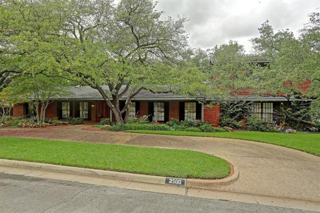 3500 Autumn Drive, Fort Worth, TX 76109 (MLS #13942130) :: RE/MAX Town & Country
