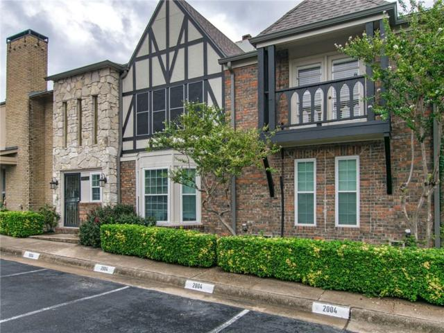 15916 Coolwood Drive #2004, Dallas, TX 75248 (MLS #13942828) :: The Rhodes Team