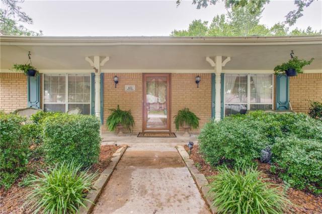 422 Northridge Street, Denton, TX 76201 (MLS #13943595) :: The Chad Smith Team