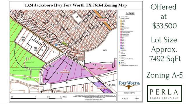 1324 Jacksboro Highway, Fort Worth, TX 76114 (MLS #13944600) :: The Real Estate Station