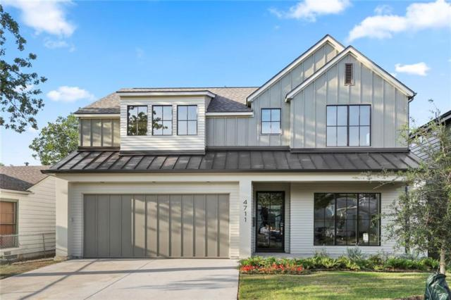 4711 March Avenue, Dallas, TX 75209 (MLS #13945315) :: Kimberly Davis & Associates