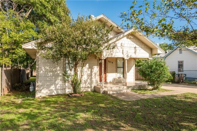 3214 N Houston Street, Fort Worth, TX 76106 (MLS #13947932) :: Frankie Arthur Real Estate