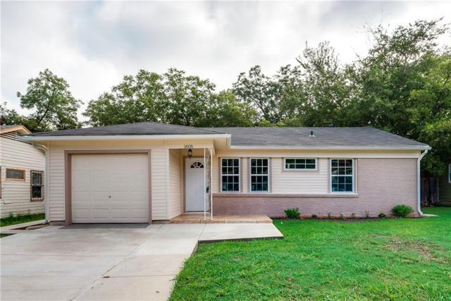 1605 Lackland Street, Arlington, TX 76010 (MLS #13949594) :: RE/MAX Town & Country
